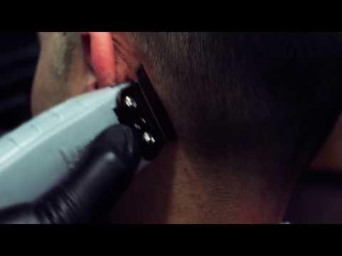 Central Barbershop-Мужская стрижка машинкой с переходом на 9мм
