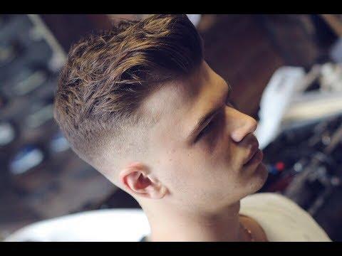 Урок для парикмахеров/Самая продаваемая  мужская стрижка ка короткие  волосы/Стрижка машинкой