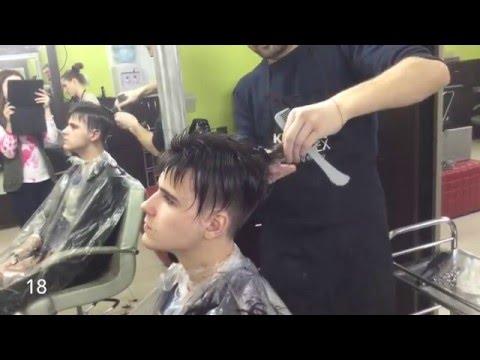 Короткая мужская стрижка. Undercut. short men's haircut Undercut