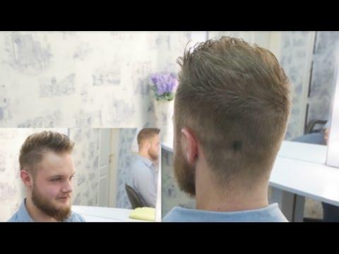 Креативная Мужская стрижка  undercut #3/ Men's Haircut Tutorial #3
