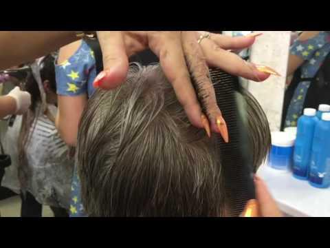 Мужская стрижка, непослушные волосы