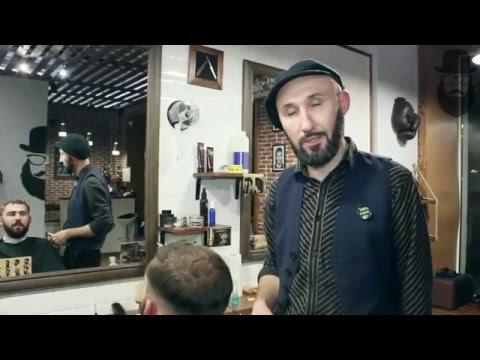 Barbershop GENTLEMEN'S CLUB — классическая стрижка undercut от барбера Сергея