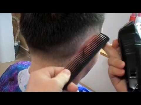 Мужская стрижка полубокс — техника выполнения стрижки