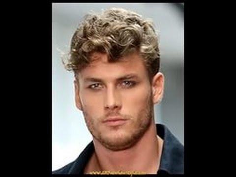 Мужские причёски на вьющиеся волосы 2015.Men's haircuts to curly hair 2015.