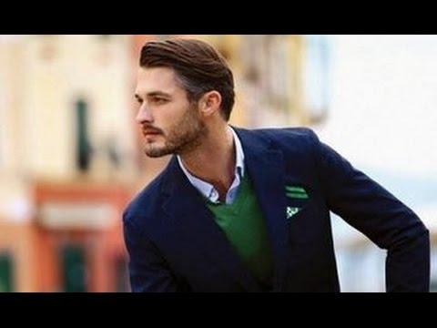 Модные классические мужские стрижки