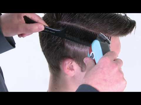 Сайкобилли — видео-урок по базовой мужской стрижке