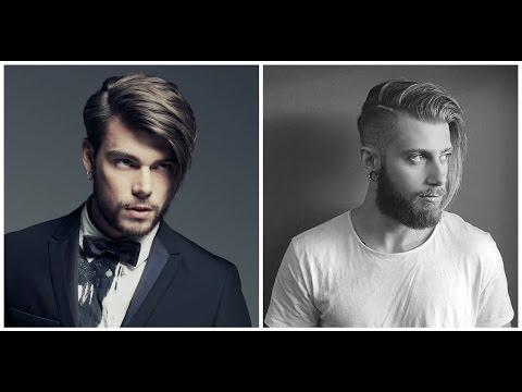 Модные мужские прически на длинные волосы 2016