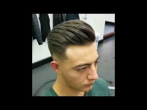 Мастер класс мужские стрижки от Американских парикмахеров часть 2