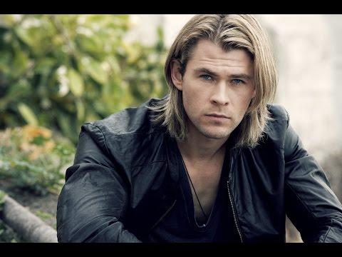 мужская стрижка для длинных волос