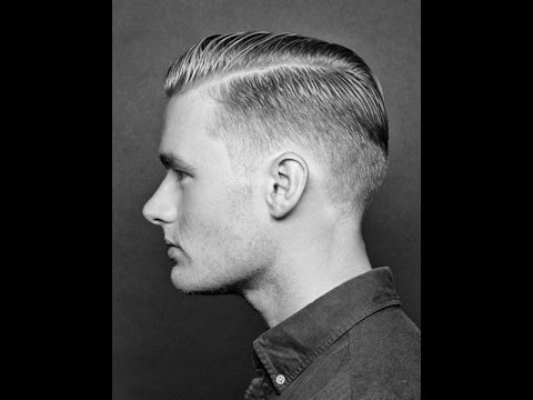 How to Style a Faded Undercut  Pompadour  Стрижка Бреда Питта