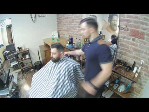 Timelapse стрижки в Solidol Barbershop / AuX — Stardust (Original Mix)