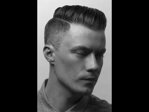 Мужская стрижка Бокс Men's hairstyle at Russian