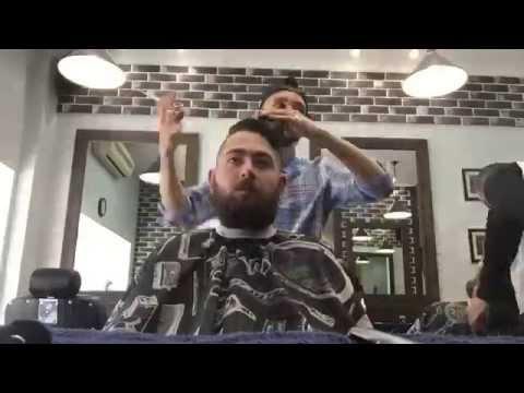 Мужская стрижка от Франта