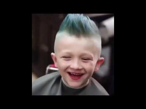 Мастер класс мужские стрижки от Американских парикмахеров часть 18