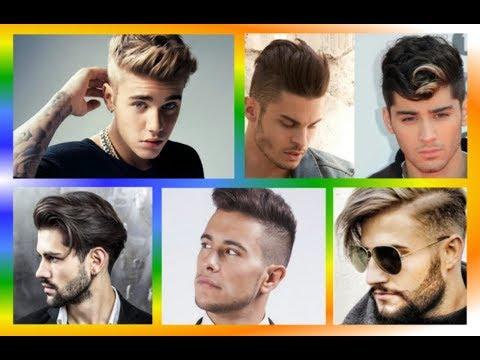Модные мужские стрижки и прически на короткие, средние, длинные  волосы 2018