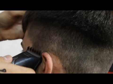 ПОЛУБОКС , работа машинкой. Обучение для парикмахеров от Узун Виталия, Одесса.